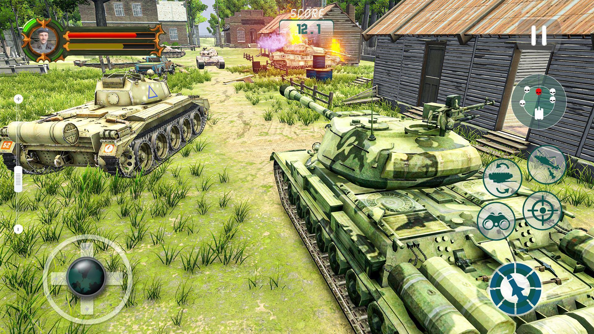 Battle Tank games 2020: Offline War Machines Games 1.6.1 Screenshot 2