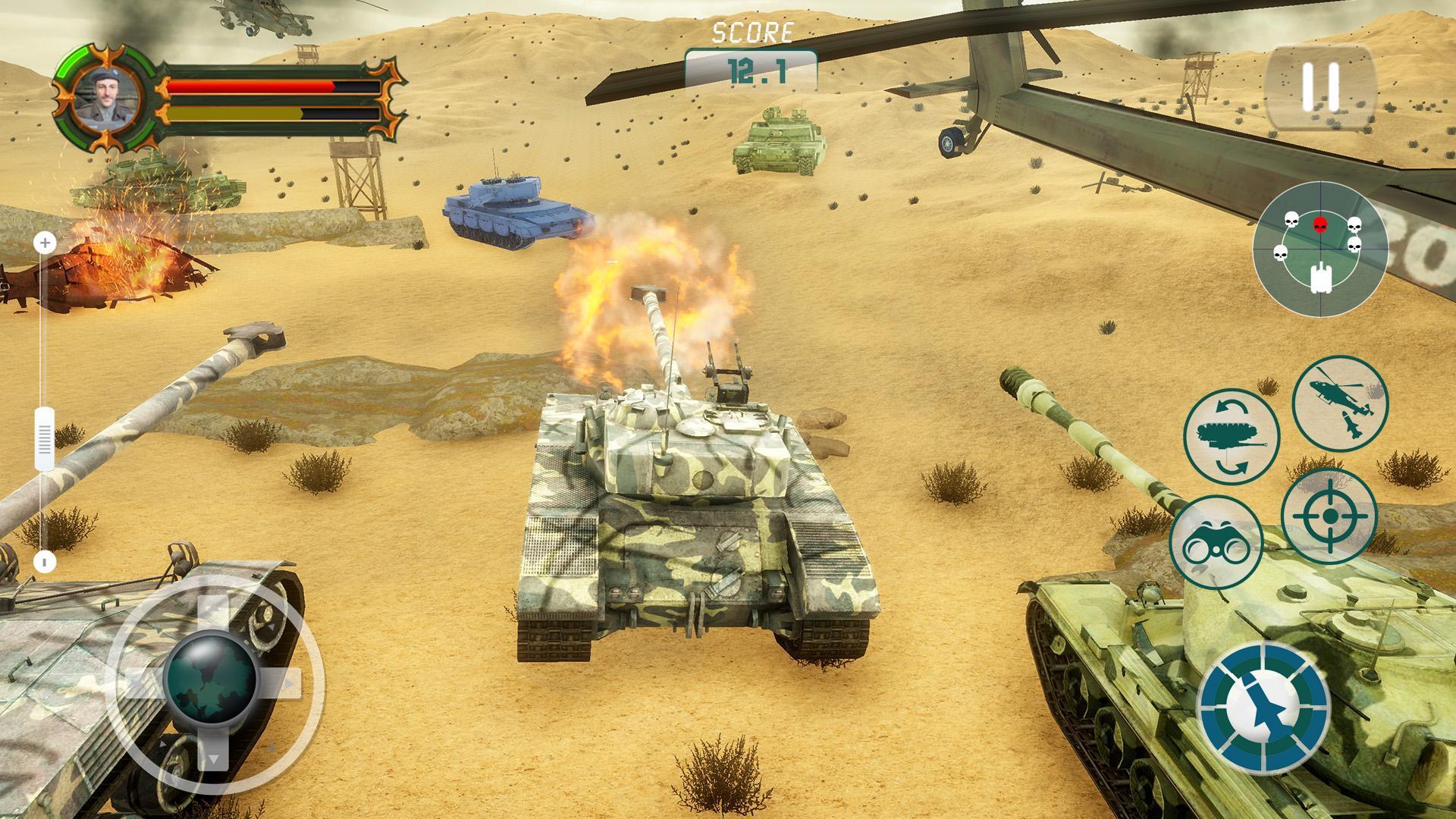 Battle Tank games 2020: Offline War Machines Games 1.6.1 Screenshot 4