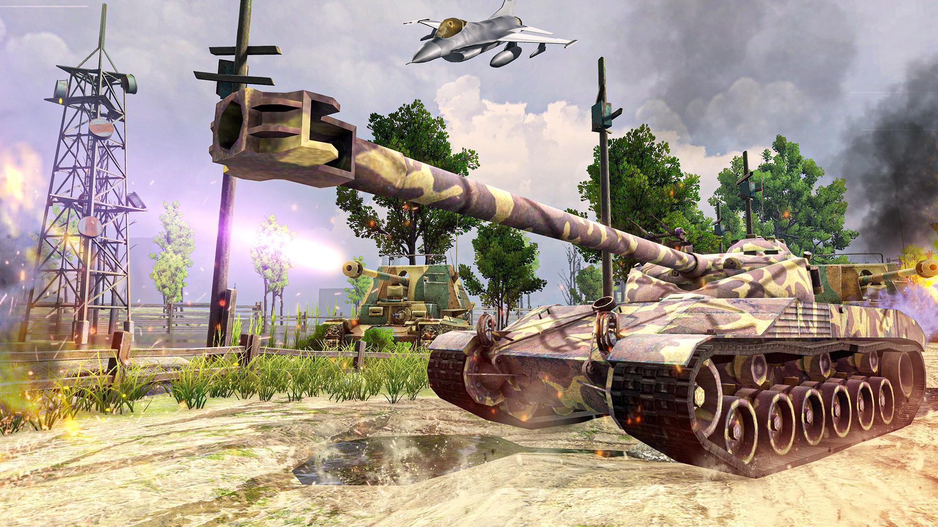 Battle Tank games 2020: Offline War Machines Games 1.6.1 Screenshot 7