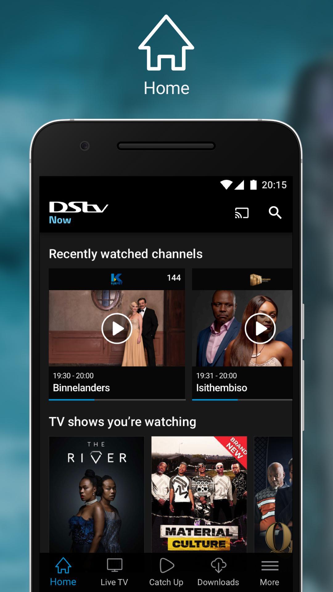 DStv Now 2.2.11 Screenshot 1