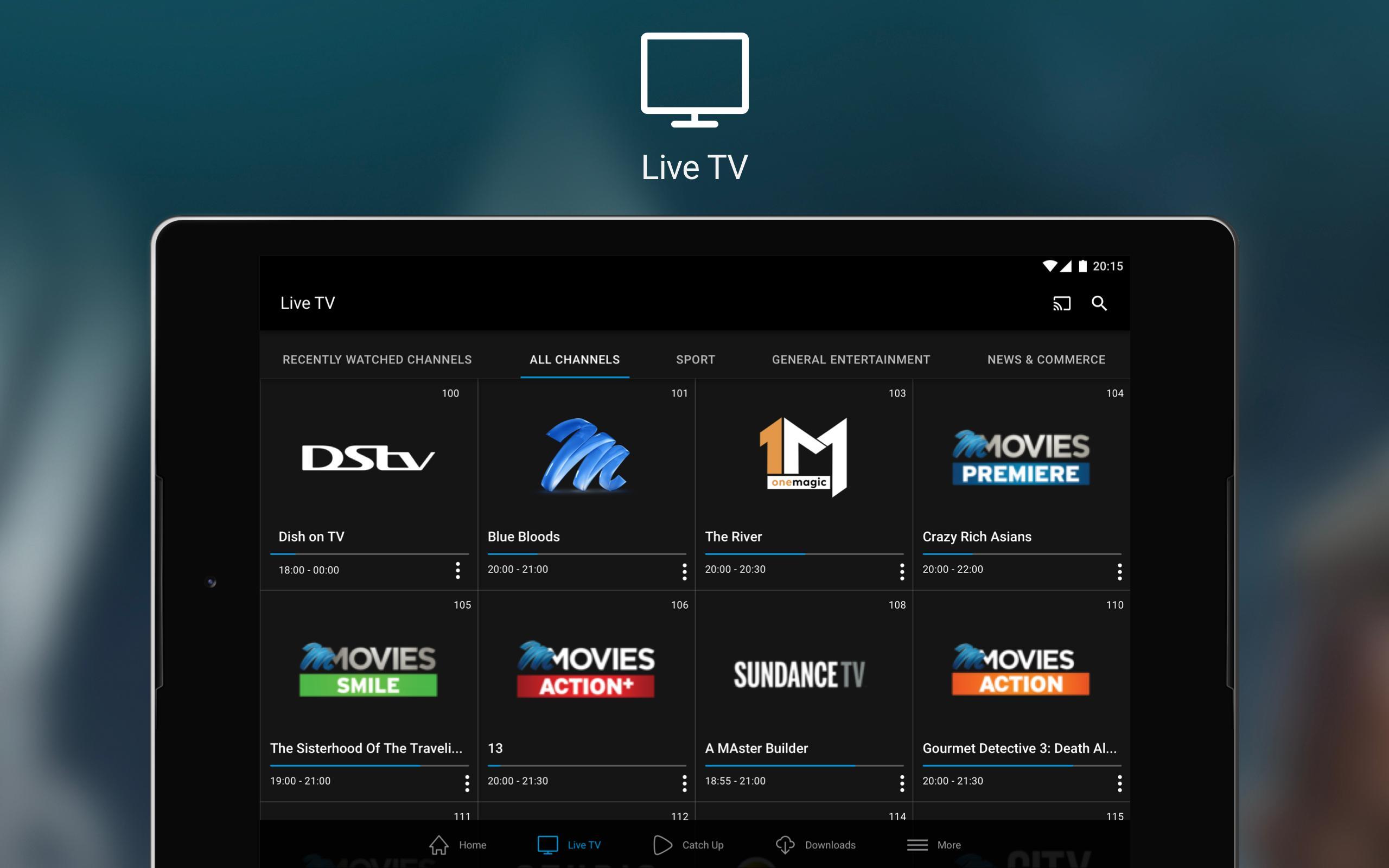 DStv Now 2.2.11 Screenshot 10