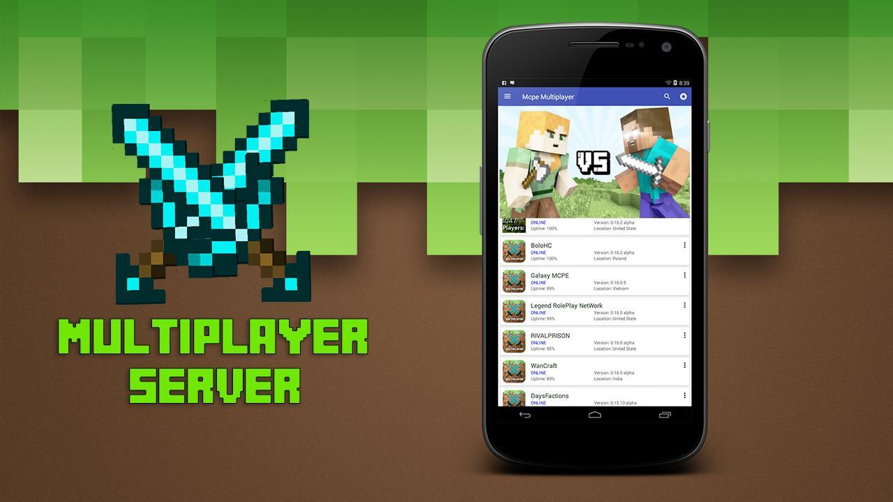 Multiplayer for Minecraft PE 2.5 Screenshot 2