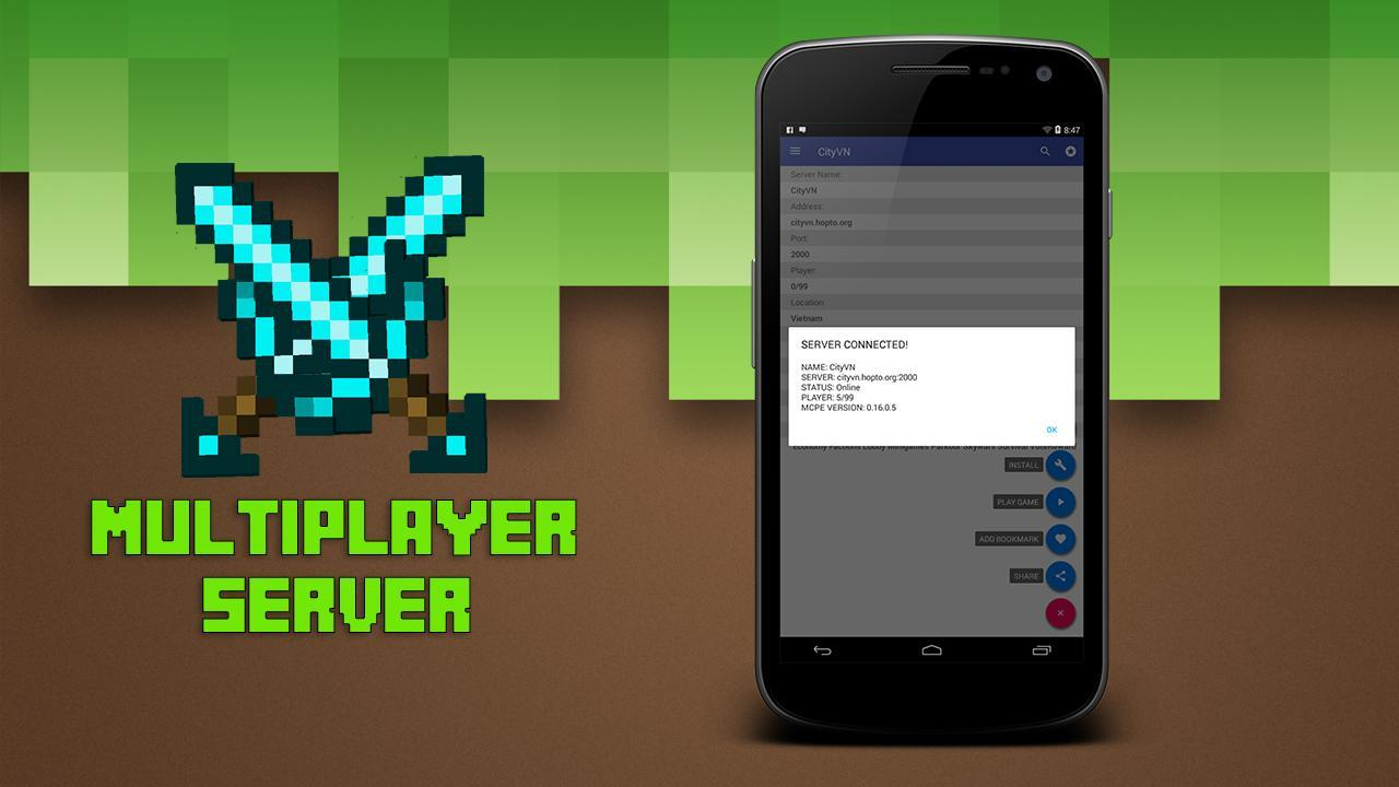 Multiplayer for Minecraft PE 2.5 Screenshot 4
