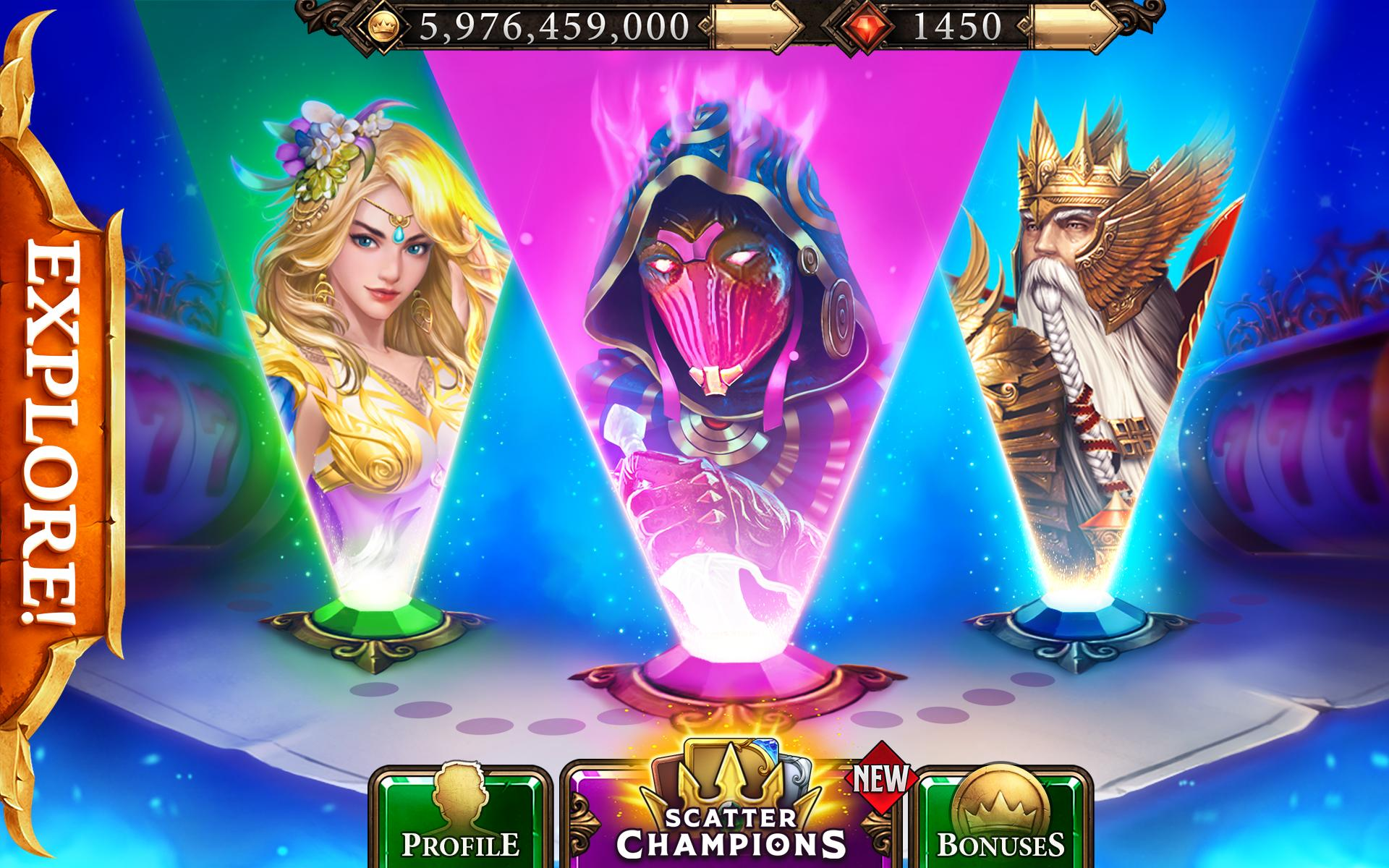 Scatter Slots Las Vegas Casino Game 777 Online 3.87.0 Screenshot 12