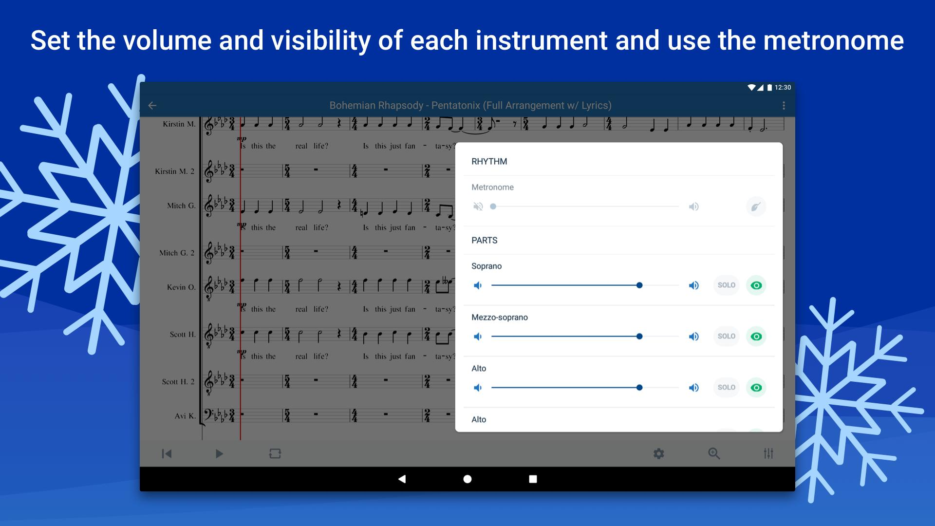 Musescore view and play sheet music 2.4.30 Screenshot 10