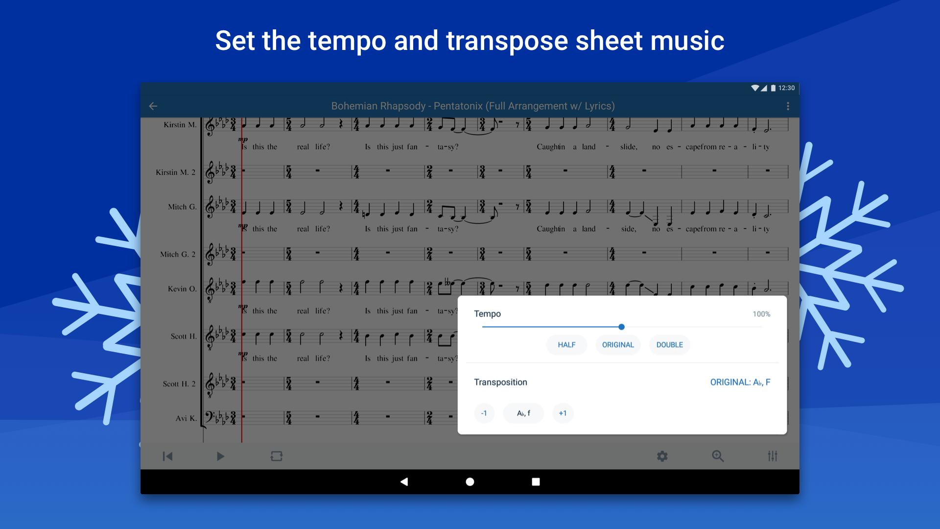 Musescore view and play sheet music 2.4.30 Screenshot 11