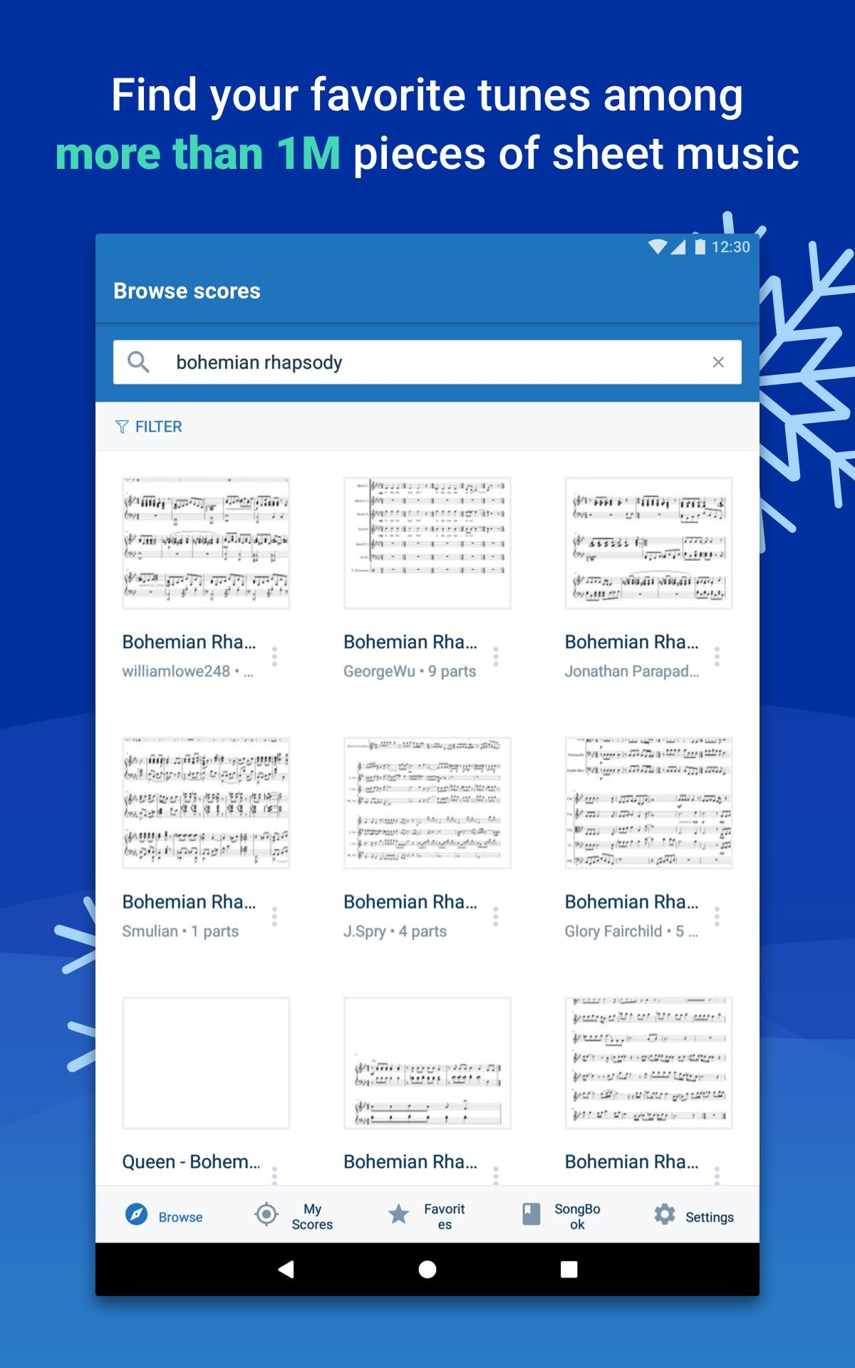 Musescore view and play sheet music 2.4.30 Screenshot 12