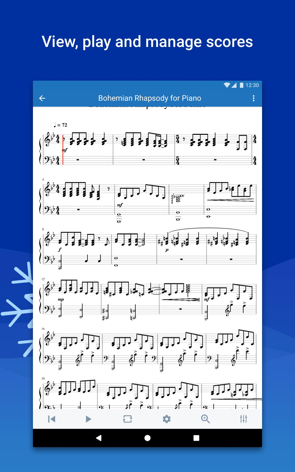 Musescore view and play sheet music 2.4.30 Screenshot 13