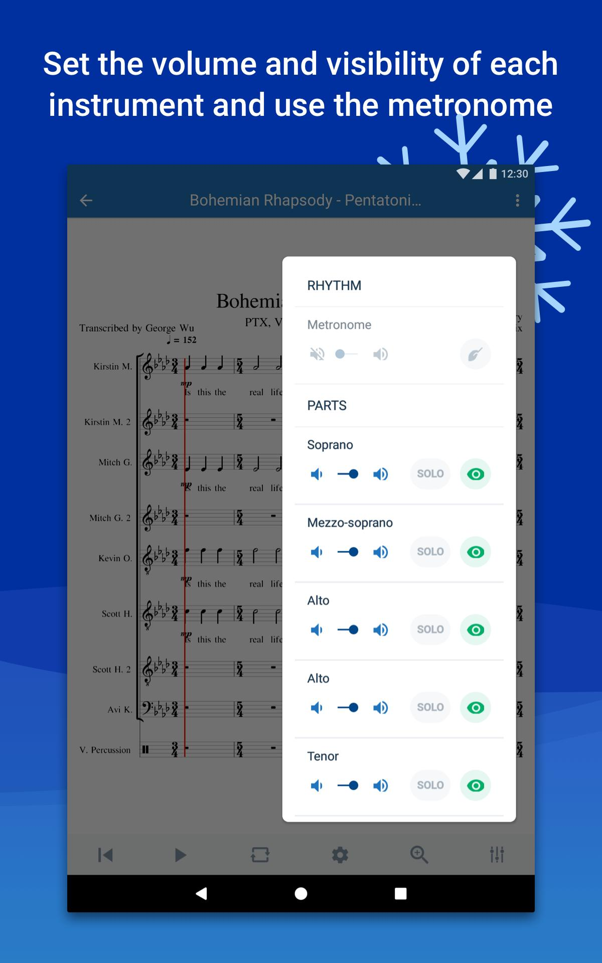 Musescore view and play sheet music 2.4.30 Screenshot 15