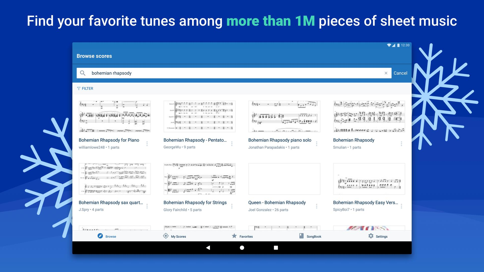 Musescore view and play sheet music 2.4.30 Screenshot 7