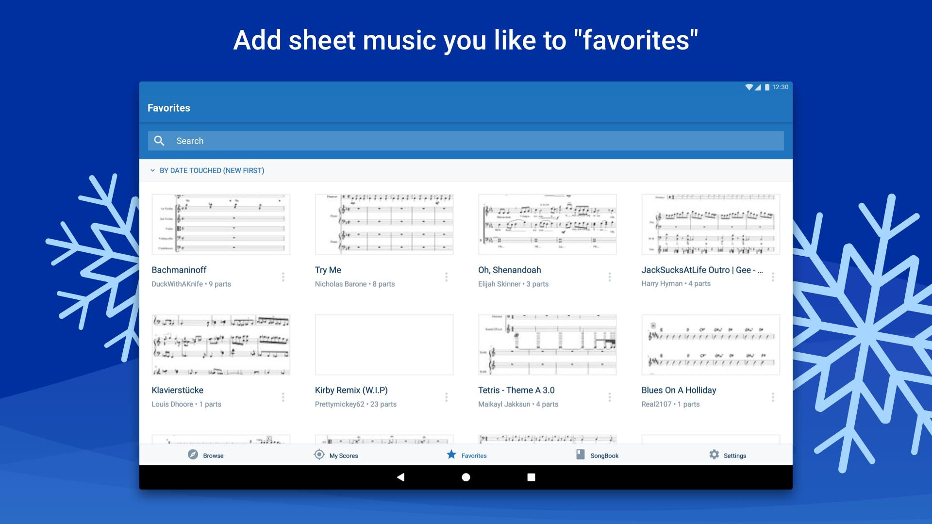 Musescore view and play sheet music 2.4.30 Screenshot 9