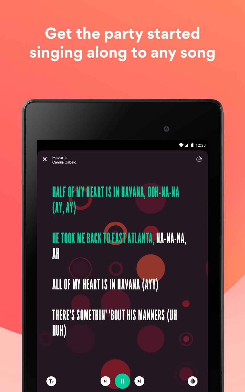 Musixmatch Lyrics for your music 7.5.1 Screenshot 19