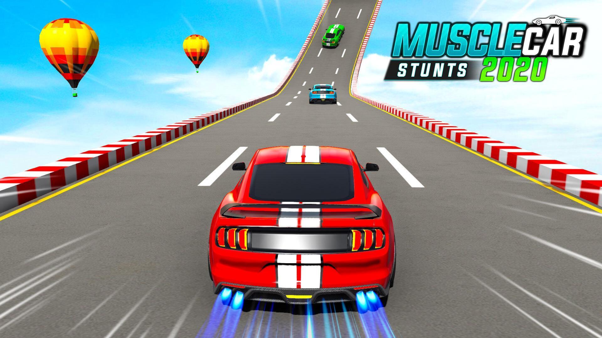 Muscle Car Stunts 2020 Mega Ramp Stunt Car Games 1.0.9 Screenshot 1