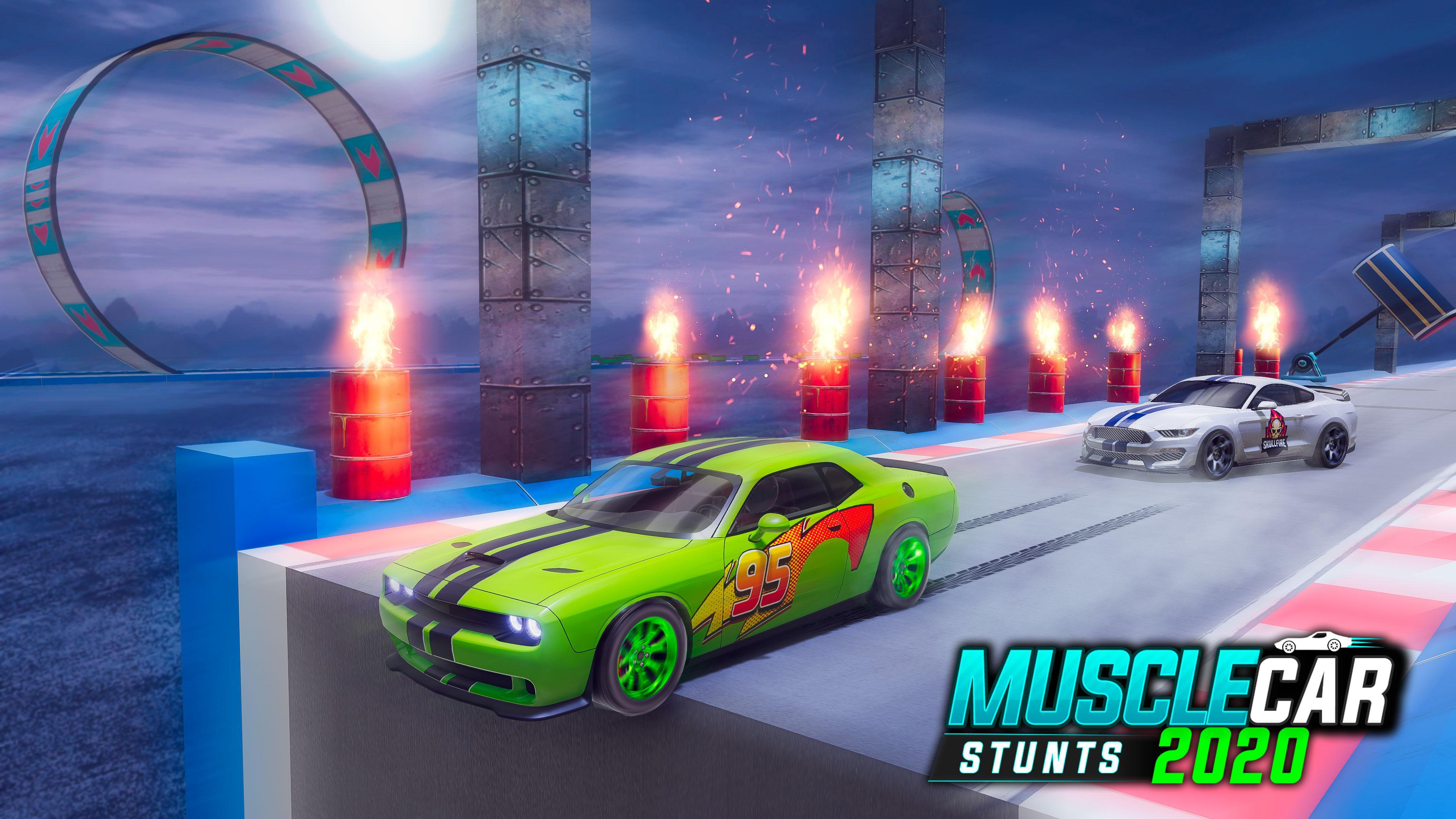 Muscle Car Stunts 2020 Mega Ramp Stunt Car Games 1.0.9 Screenshot 13