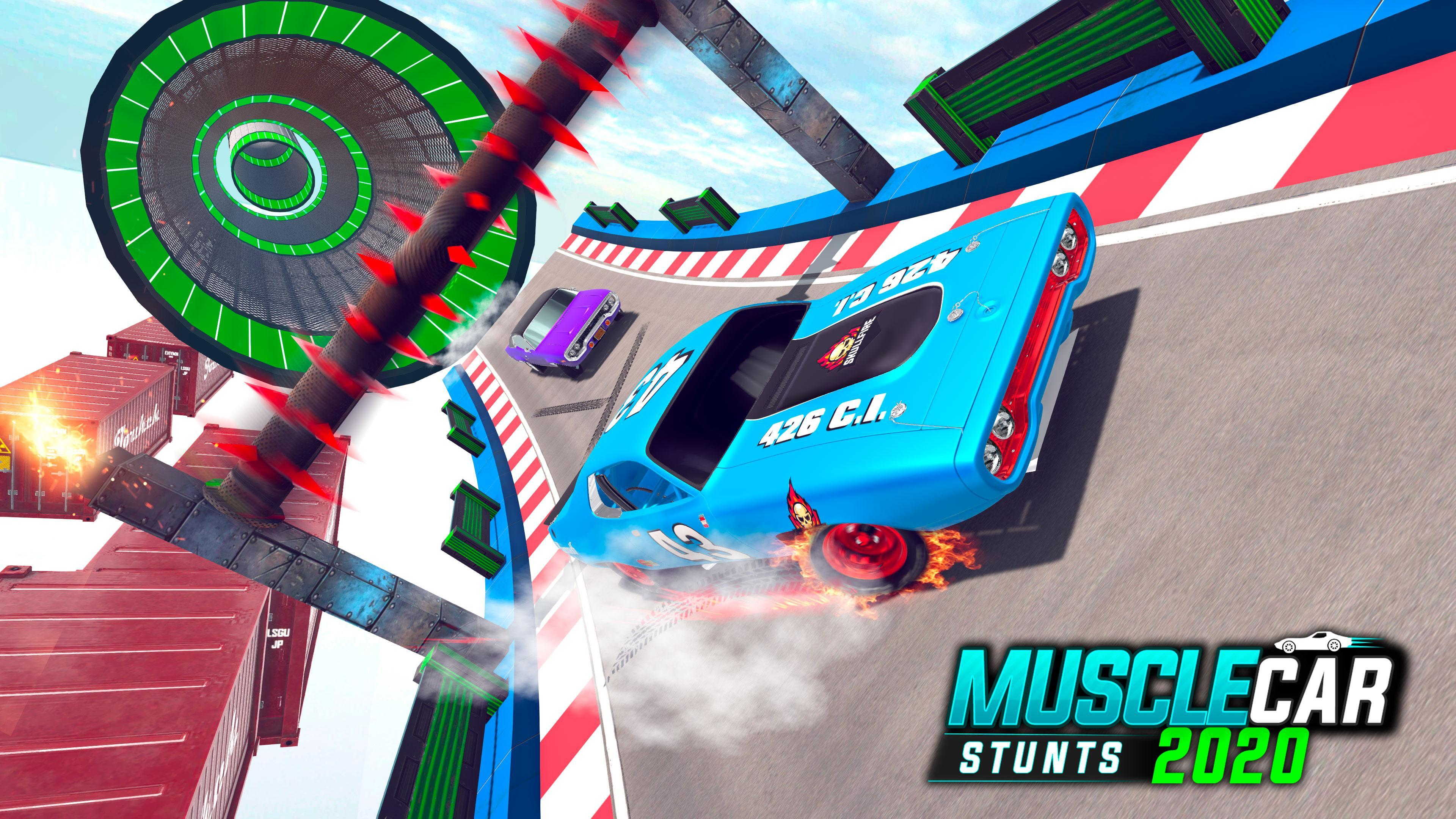 Muscle Car Stunts 2020 Mega Ramp Stunt Car Games 1.0.9 Screenshot 16
