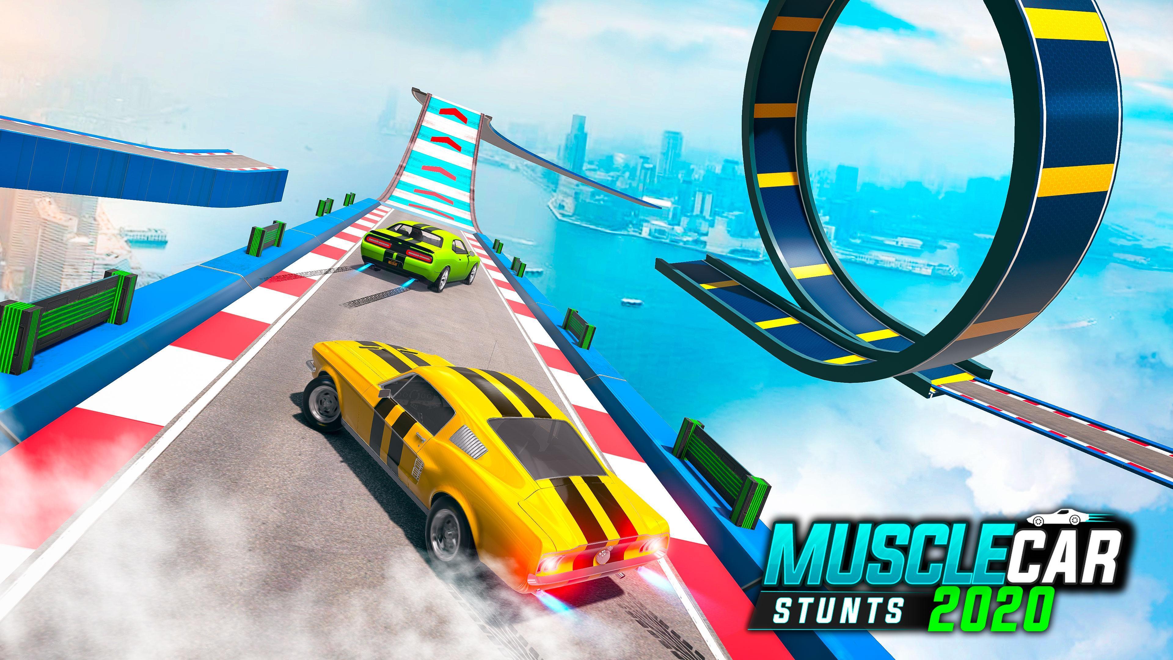 Muscle Car Stunts 2020 Mega Ramp Stunt Car Games 1.0.9 Screenshot 18
