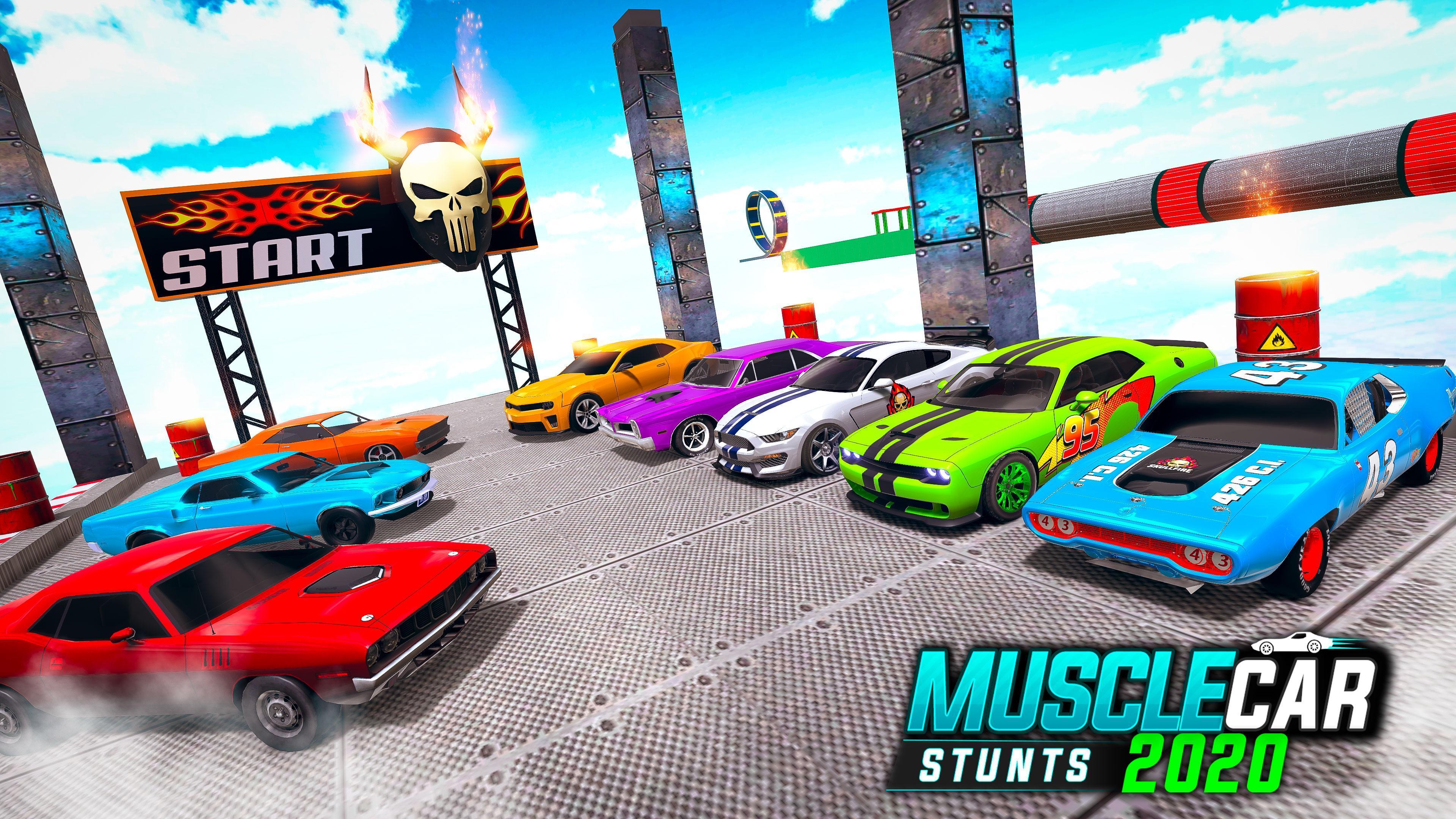 Muscle Car Stunts 2020 Mega Ramp Stunt Car Games 1.0.9 Screenshot 20