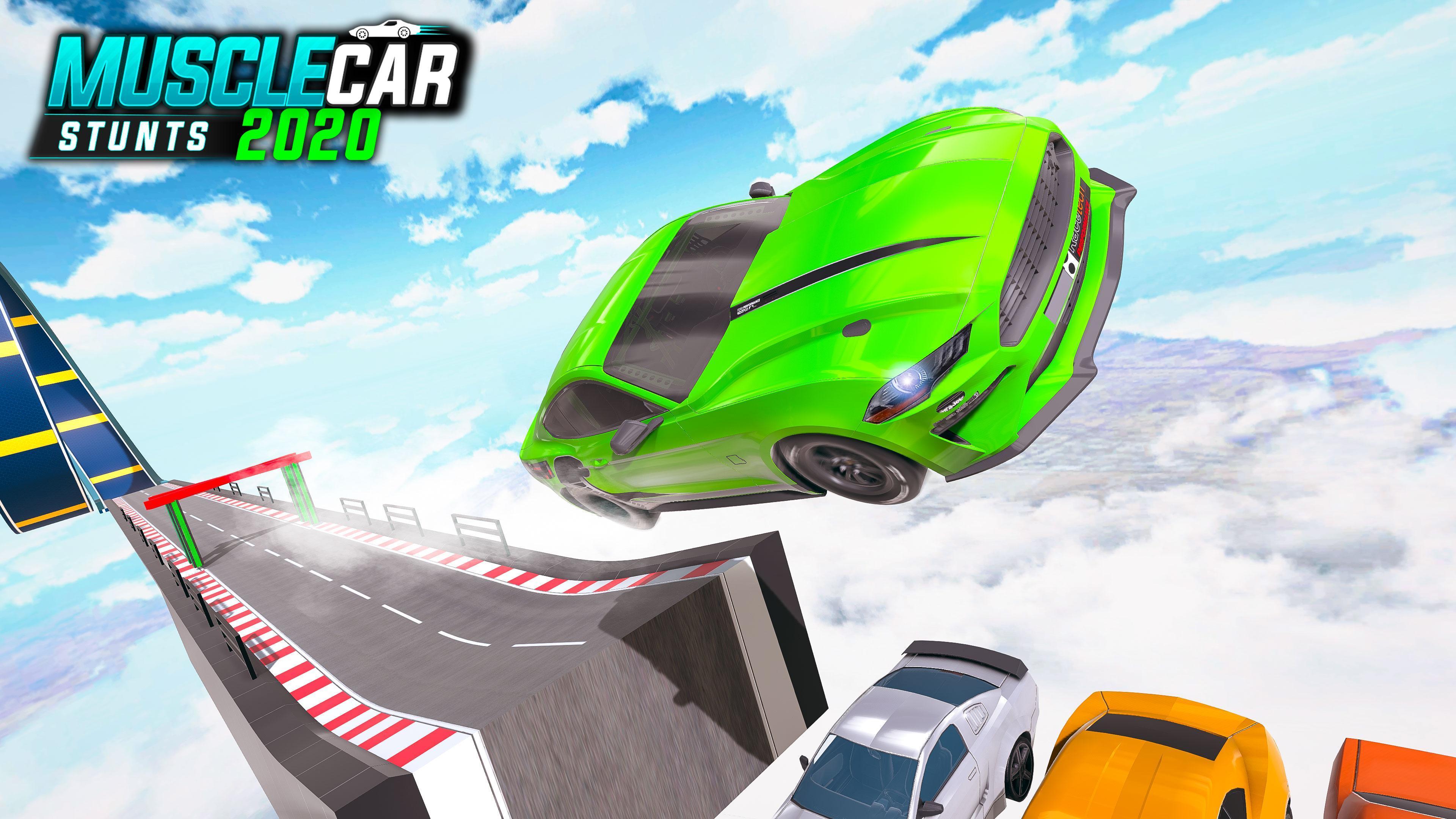 Muscle Car Stunts 2020 Mega Ramp Stunt Car Games 1.0.9 Screenshot 23