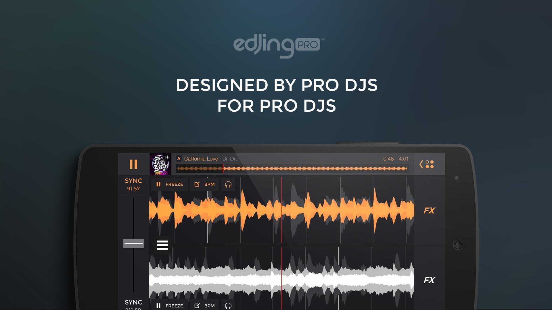 edjing PRO LE - Music DJ mixer 1.5.4 Screenshot 1