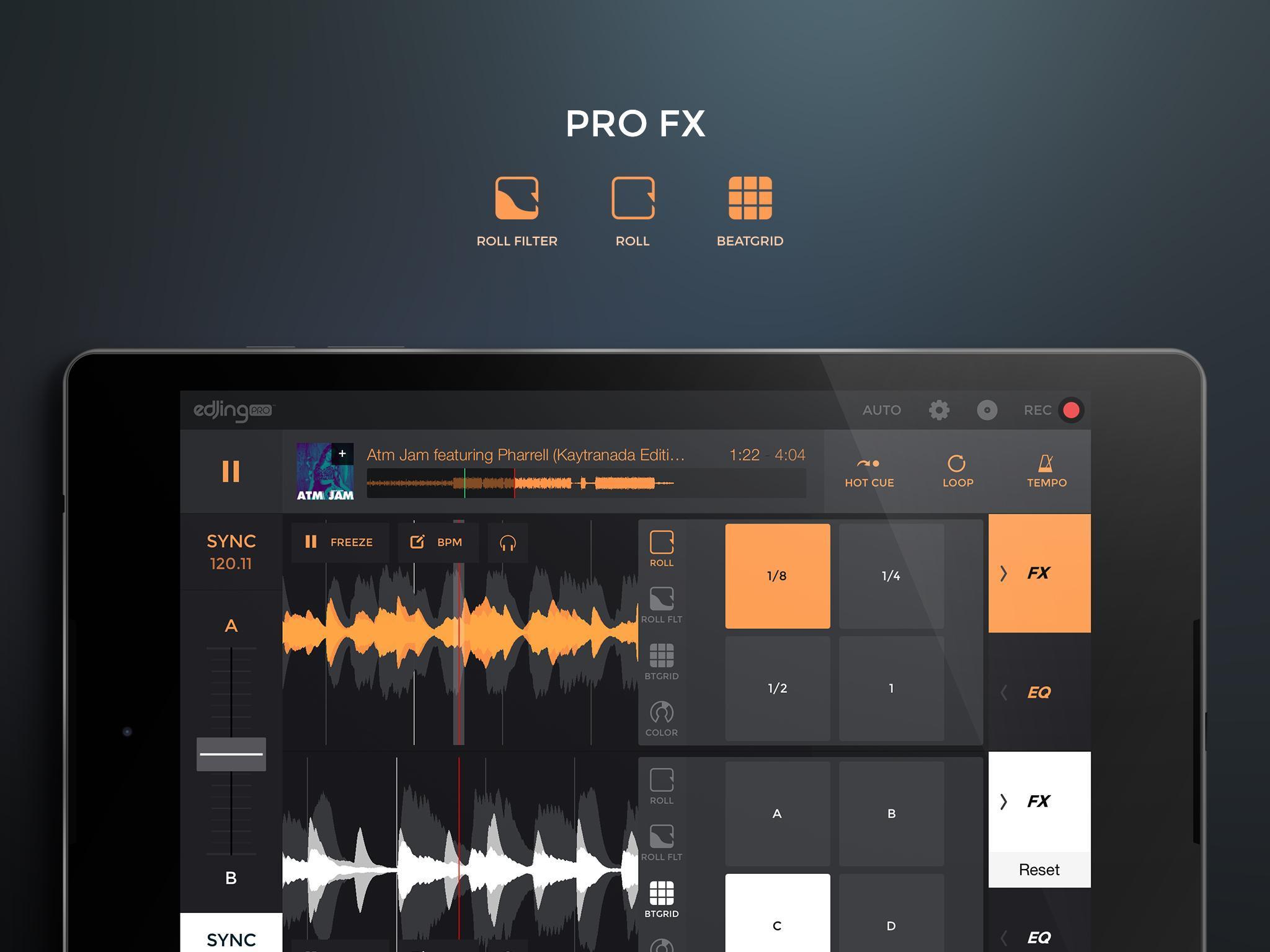 edjing PRO LE - Music DJ mixer 1.5.4 Screenshot 10