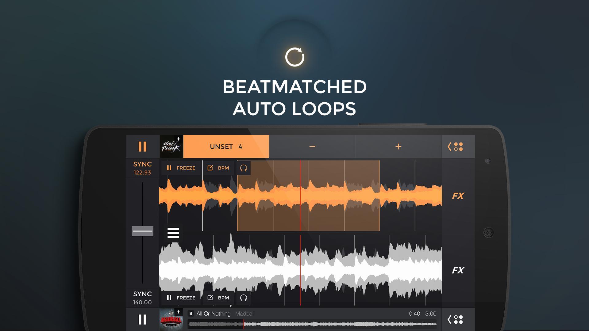 edjing PRO LE - Music DJ mixer 1.5.4 Screenshot 2