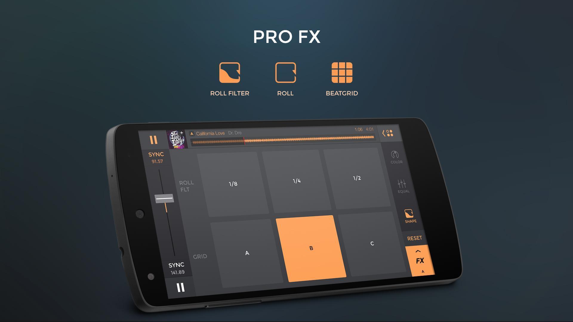 edjing PRO LE - Music DJ mixer 1.5.4 Screenshot 5
