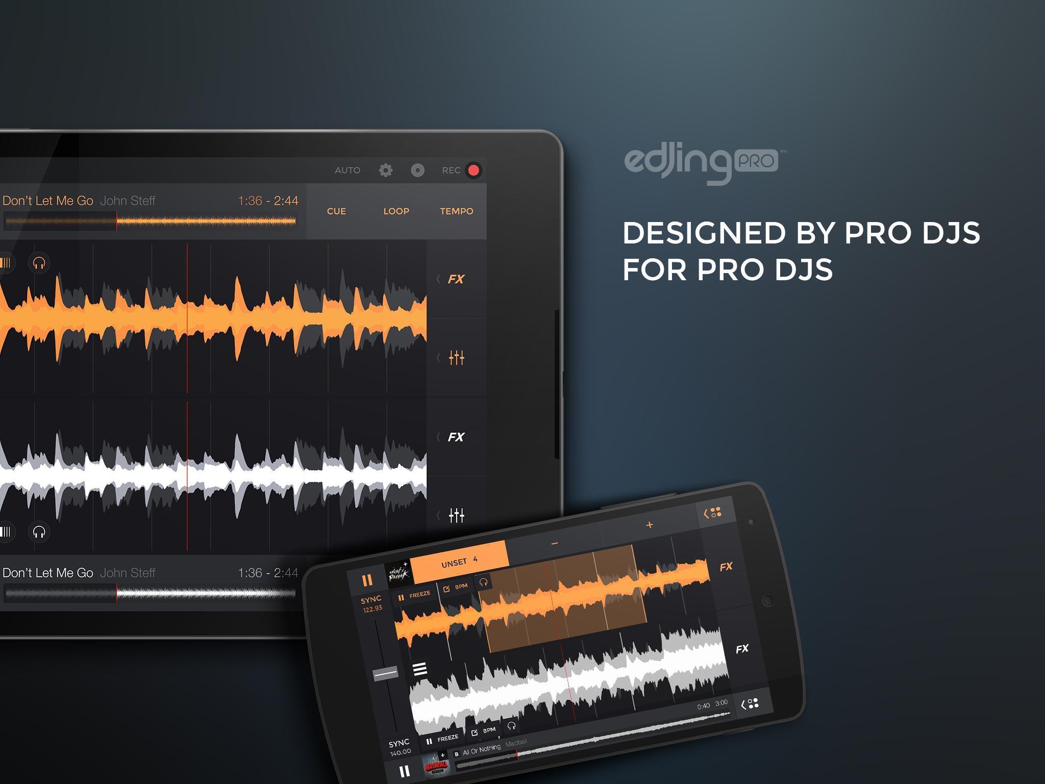 edjing PRO LE - Music DJ mixer 1.5.4 Screenshot 6