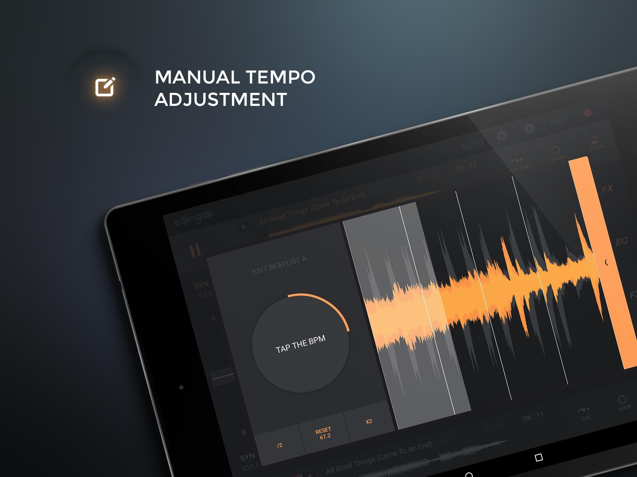 edjing PRO LE - Music DJ mixer 1.5.4 Screenshot 8