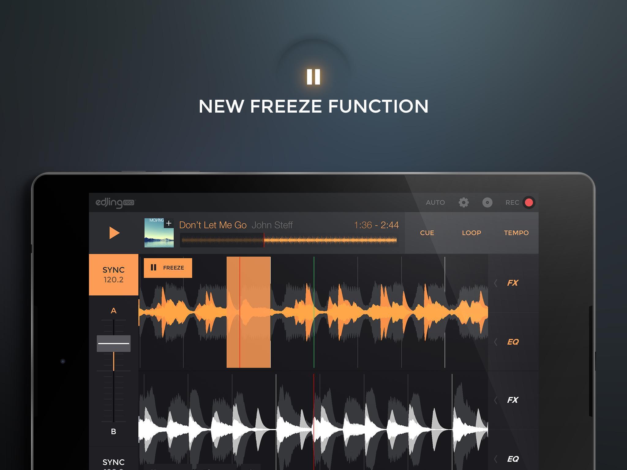 edjing PRO LE - Music DJ mixer 1.5.4 Screenshot 9