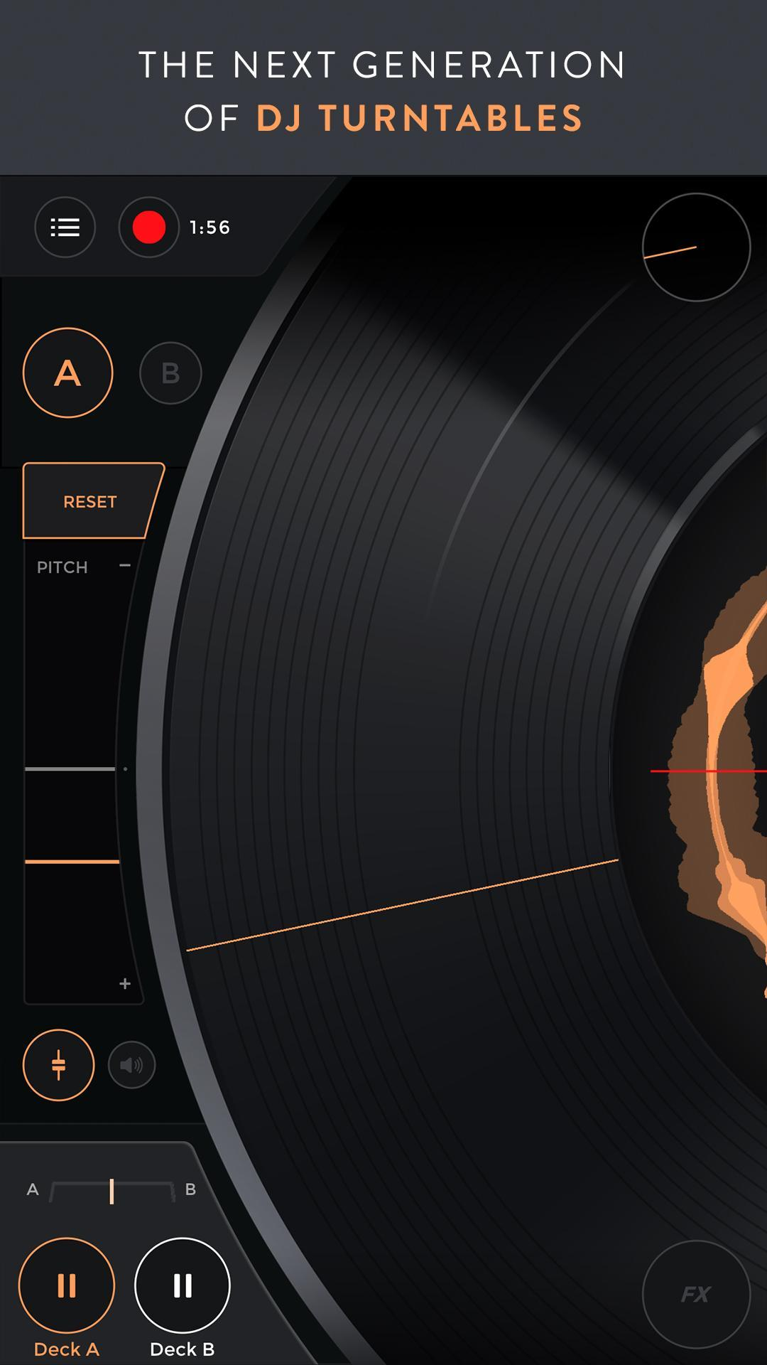 Mixfader dj digital vinyl 1.4.0 Screenshot 1