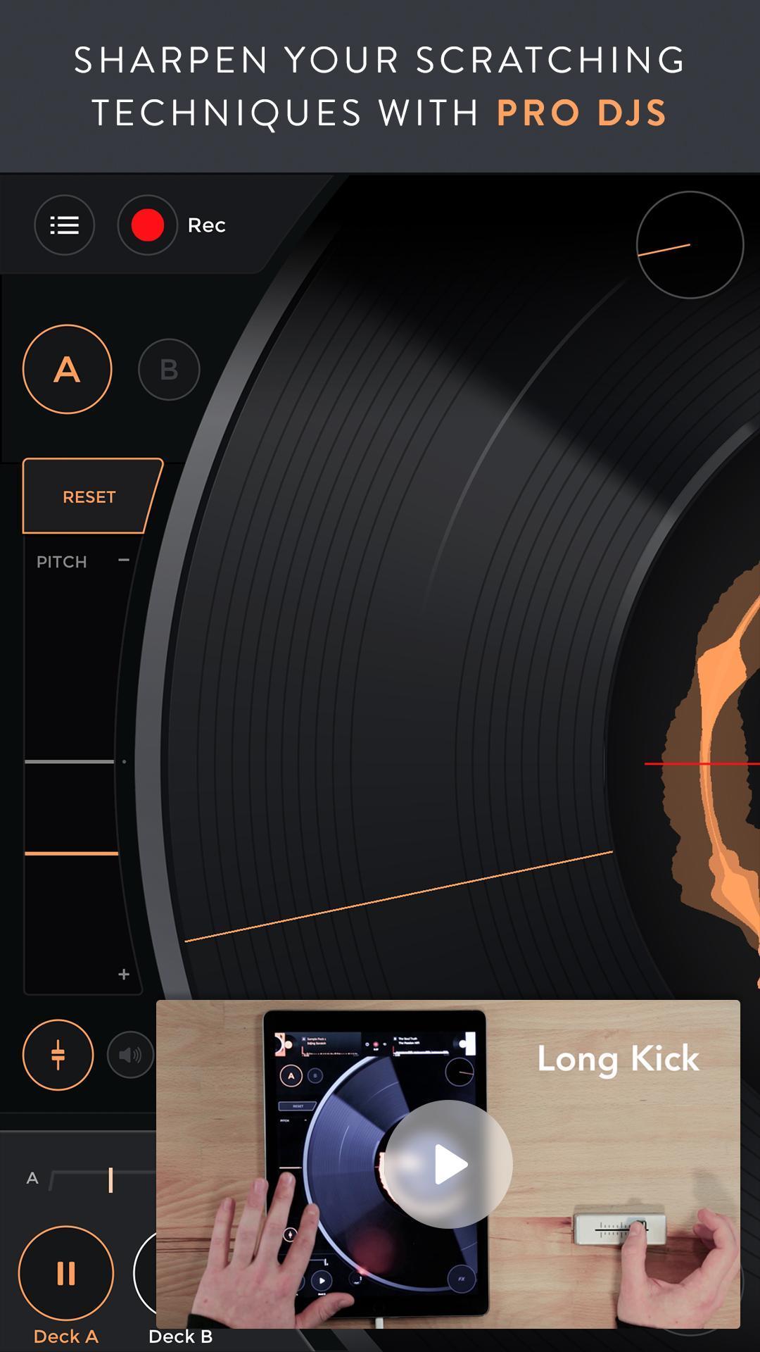 Mixfader dj digital vinyl 1.4.0 Screenshot 2
