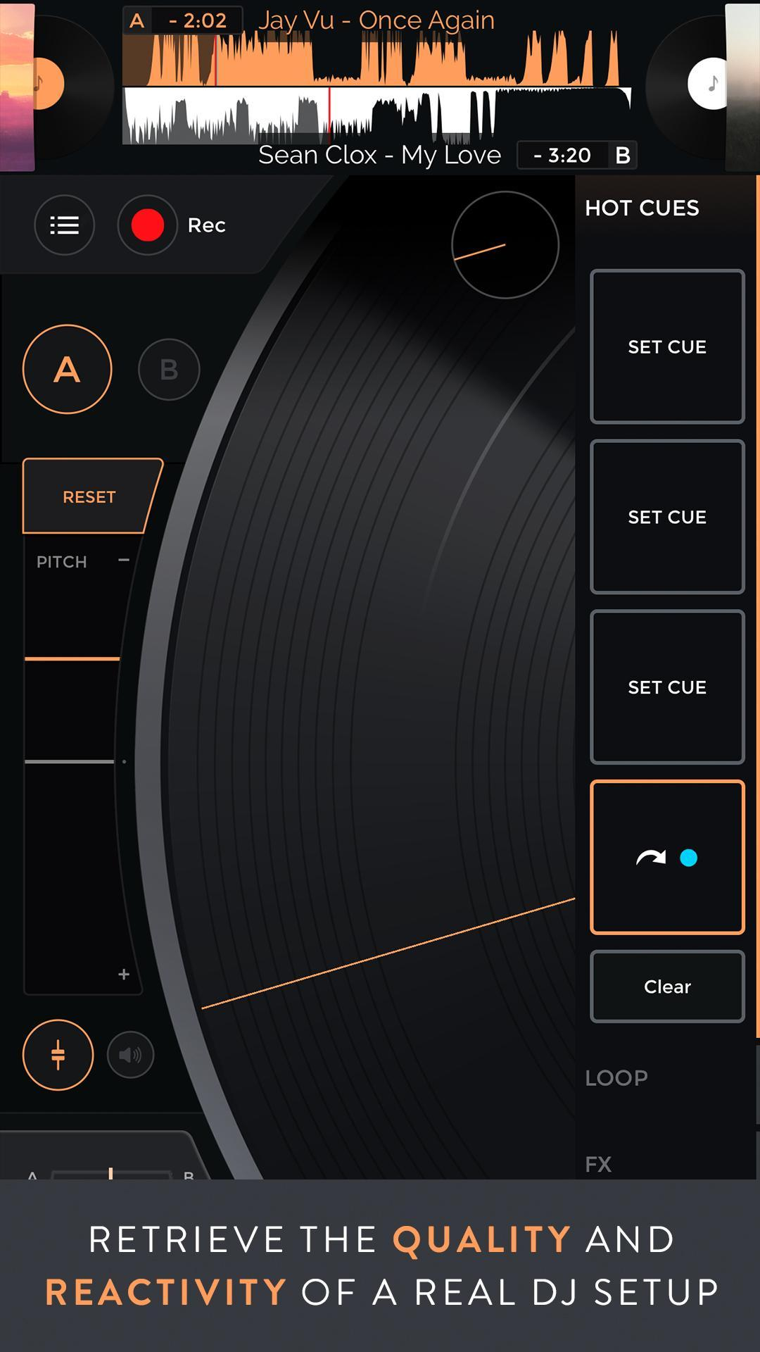 Mixfader dj digital vinyl 1.4.0 Screenshot 3