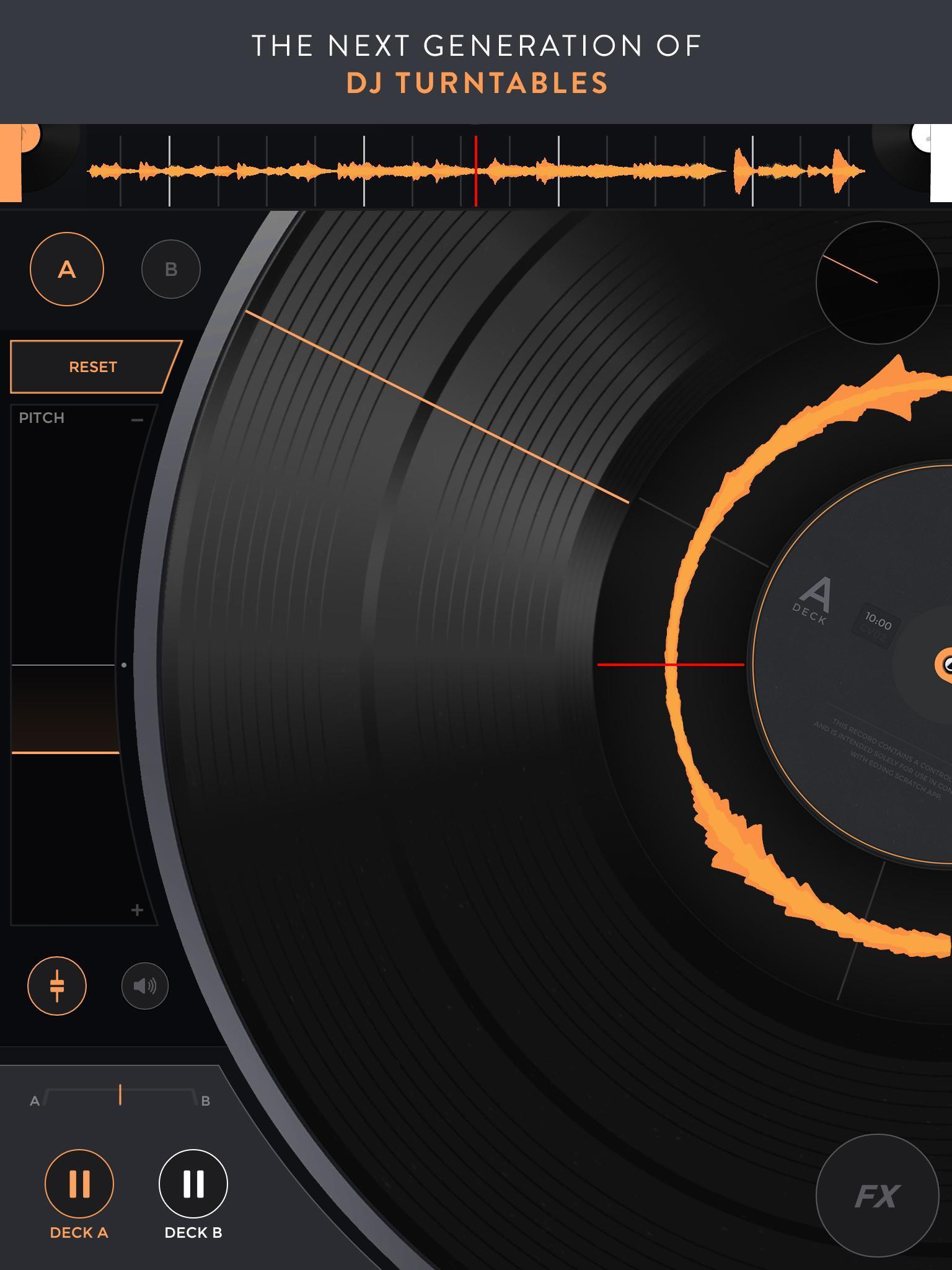 Mixfader dj digital vinyl 1.4.0 Screenshot 7