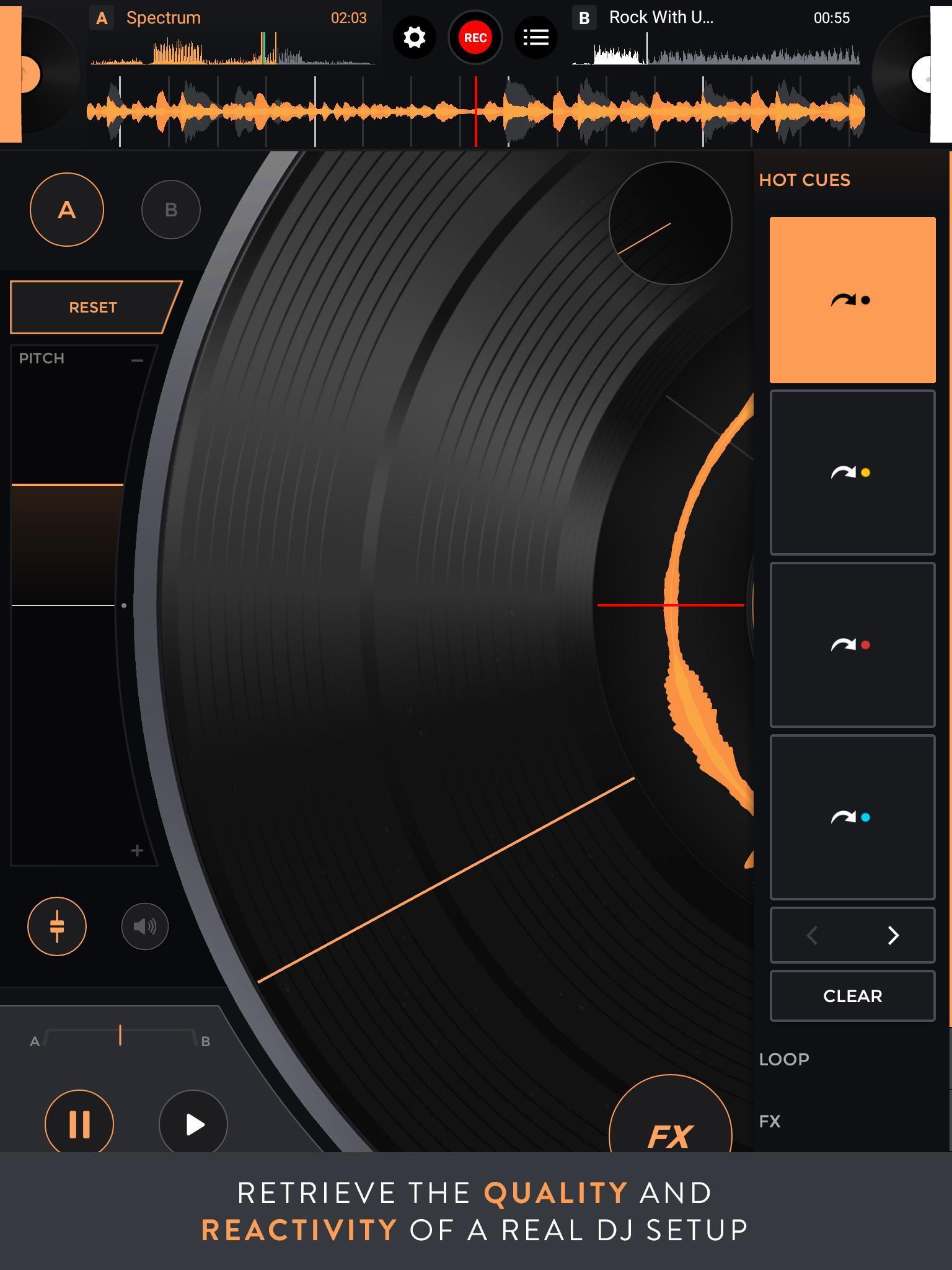 Mixfader dj digital vinyl 1.4.0 Screenshot 9