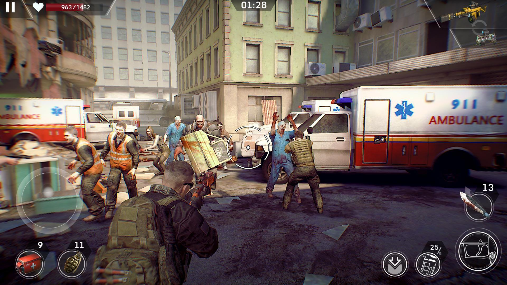 Left to Survive Zombie Survival PvP Shooter 4.2.0 Screenshot 15