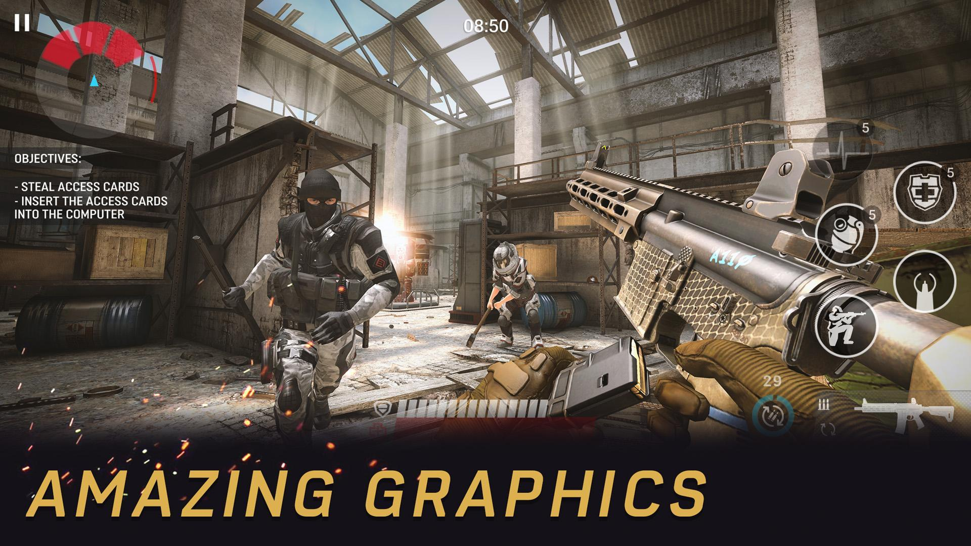 Warface Global Operations – Gun shooting game,fps 2.1.0 Screenshot 2