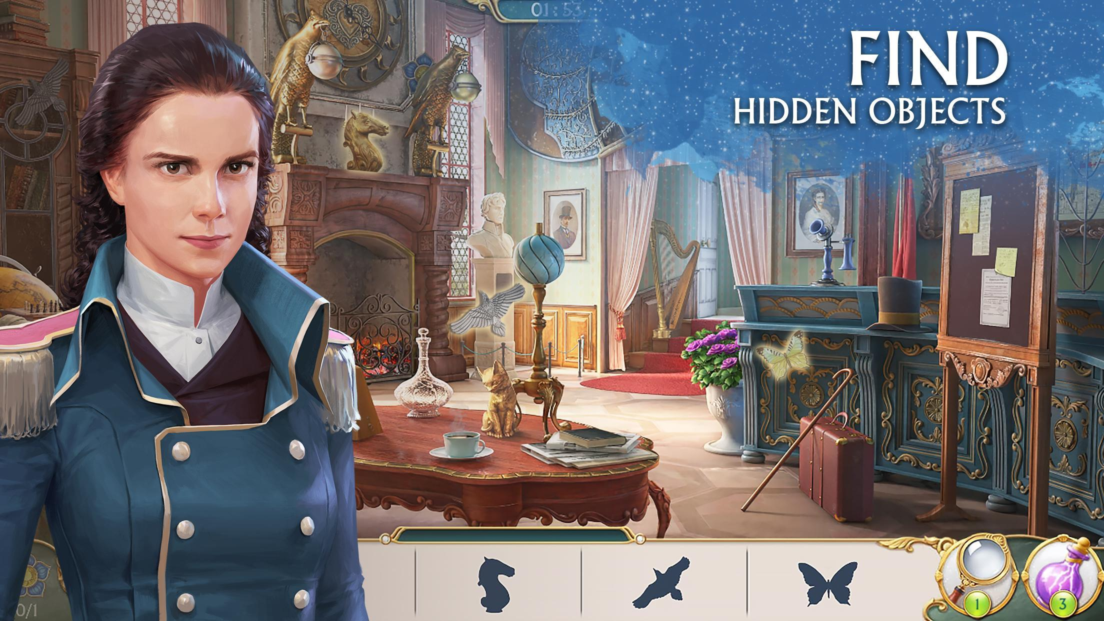 Ravenhill®: Hidden Mystery - Match-3 with a Story 2.21.1 Screenshot 1
