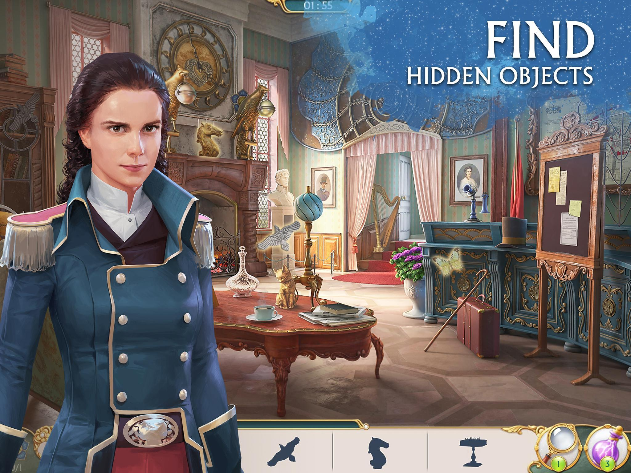 Ravenhill®: Hidden Mystery - Match-3 with a Story 2.21.1 Screenshot 11