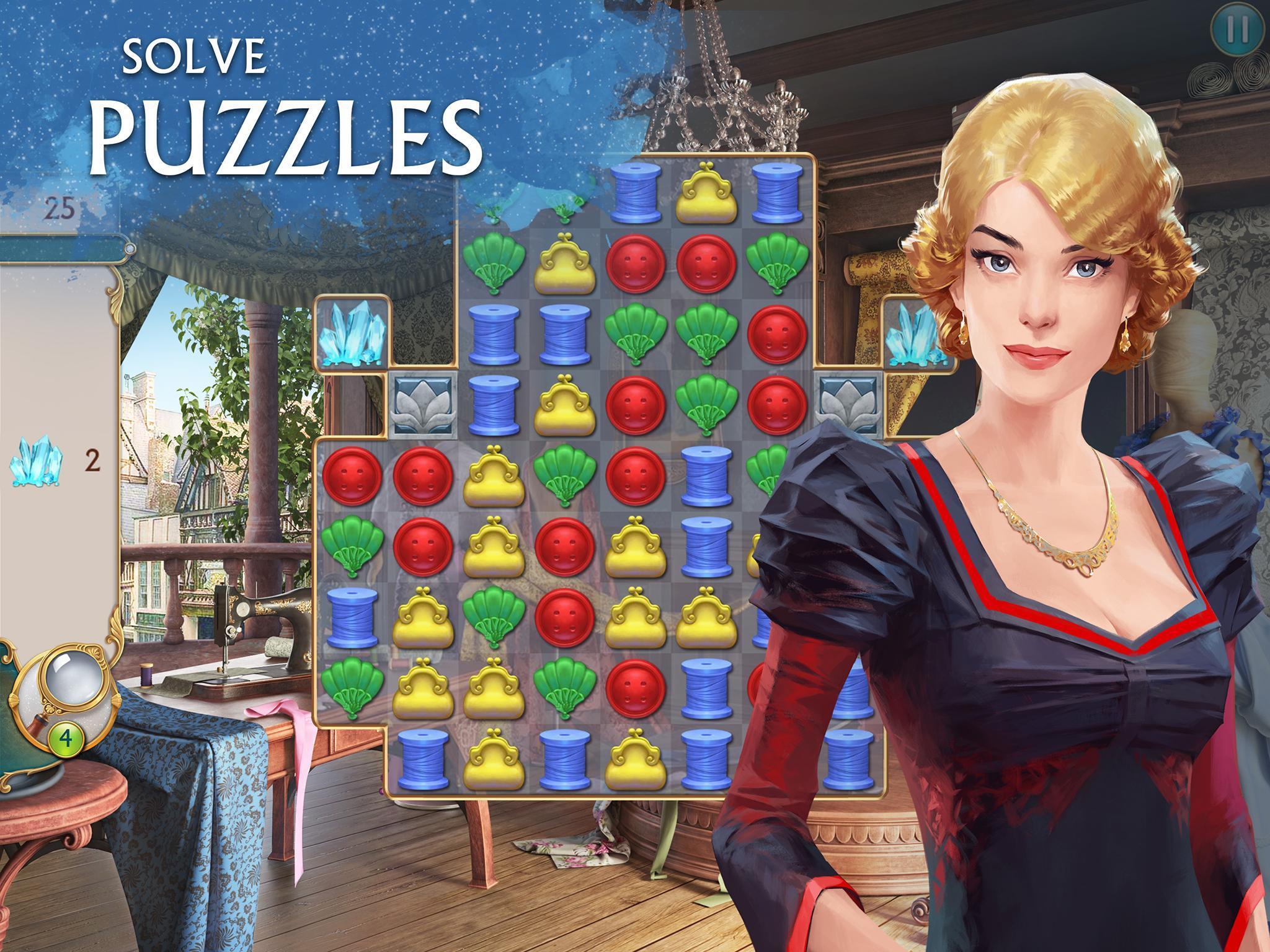 Ravenhill®: Hidden Mystery - Match-3 with a Story 2.21.1 Screenshot 13
