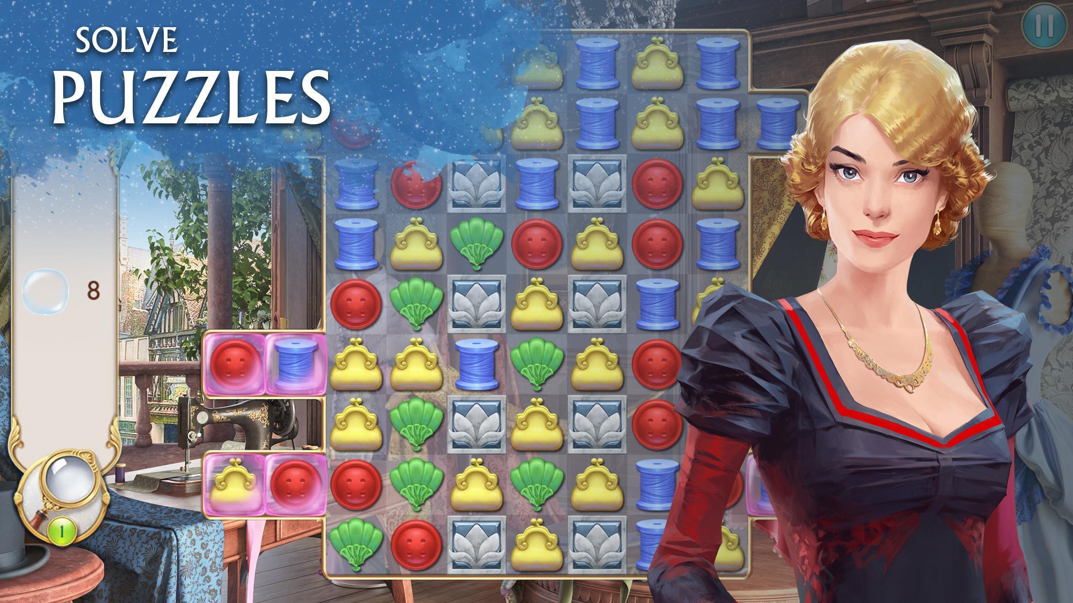Ravenhill®: Hidden Mystery - Match-3 with a Story 2.21.1 Screenshot 2
