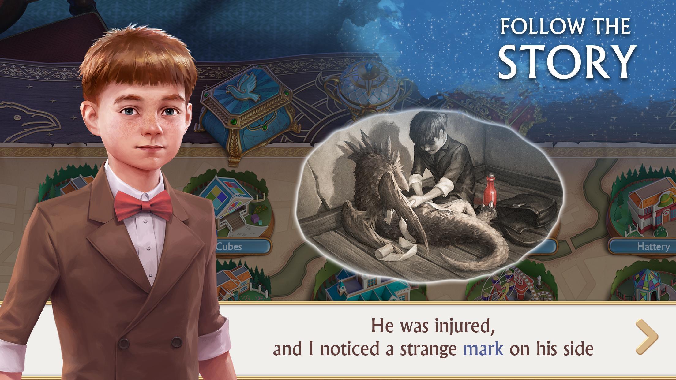 Ravenhill®: Hidden Mystery - Match-3 with a Story 2.21.1 Screenshot 4