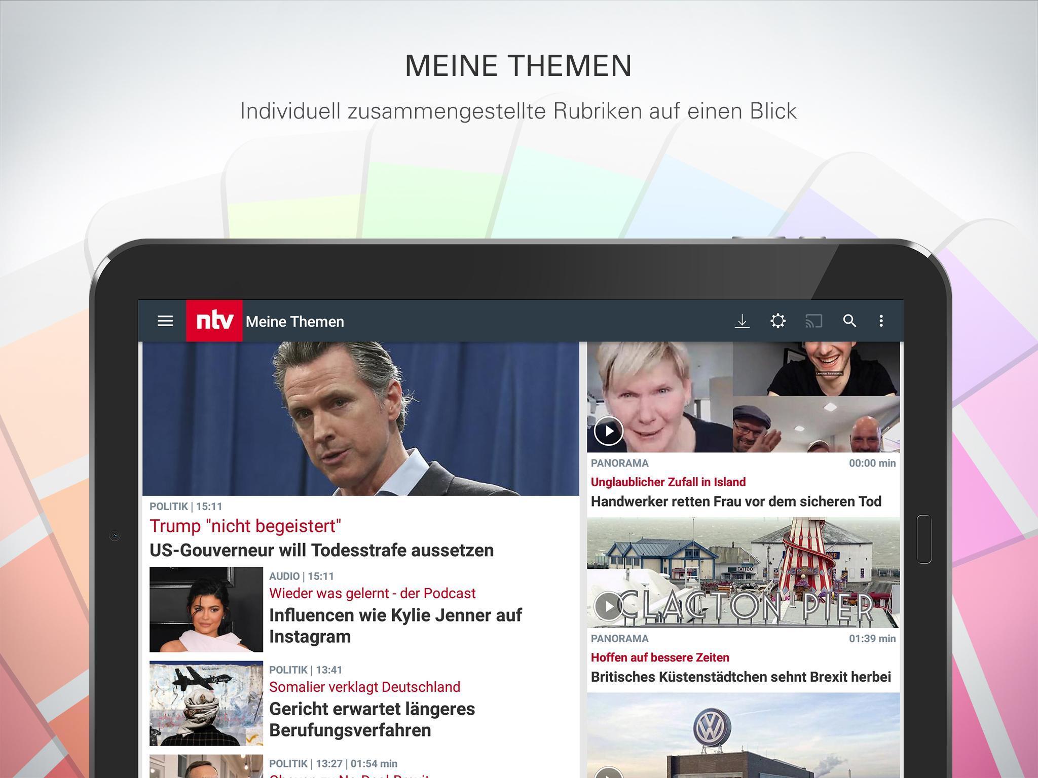 ntv Nachrichten 5.7.0.2 Screenshot 12