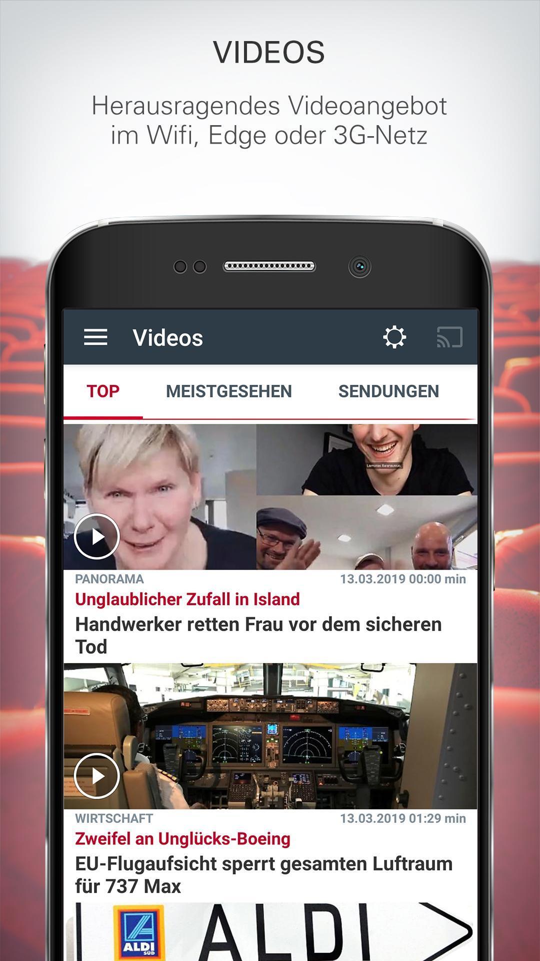 ntv Nachrichten 5.7.0.2 Screenshot 2