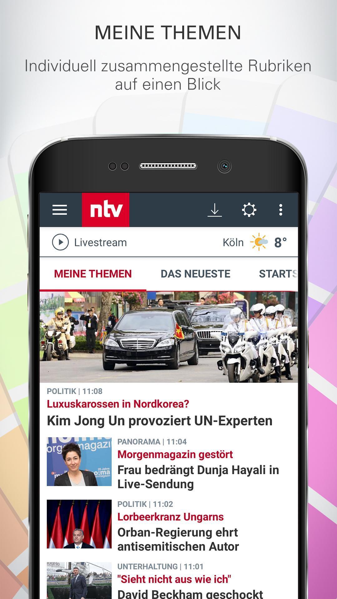 ntv Nachrichten 5.7.0.2 Screenshot 5