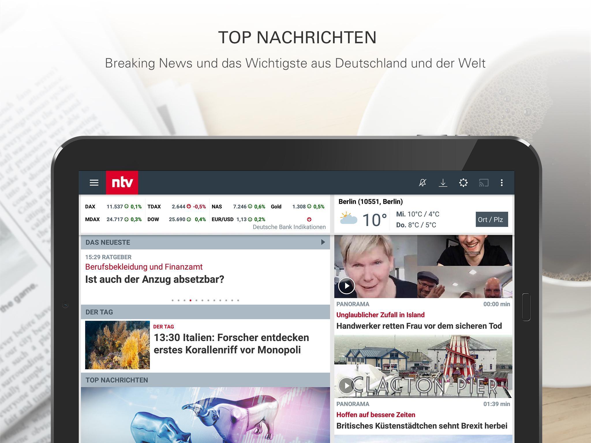 ntv Nachrichten 5.7.0.2 Screenshot 8
