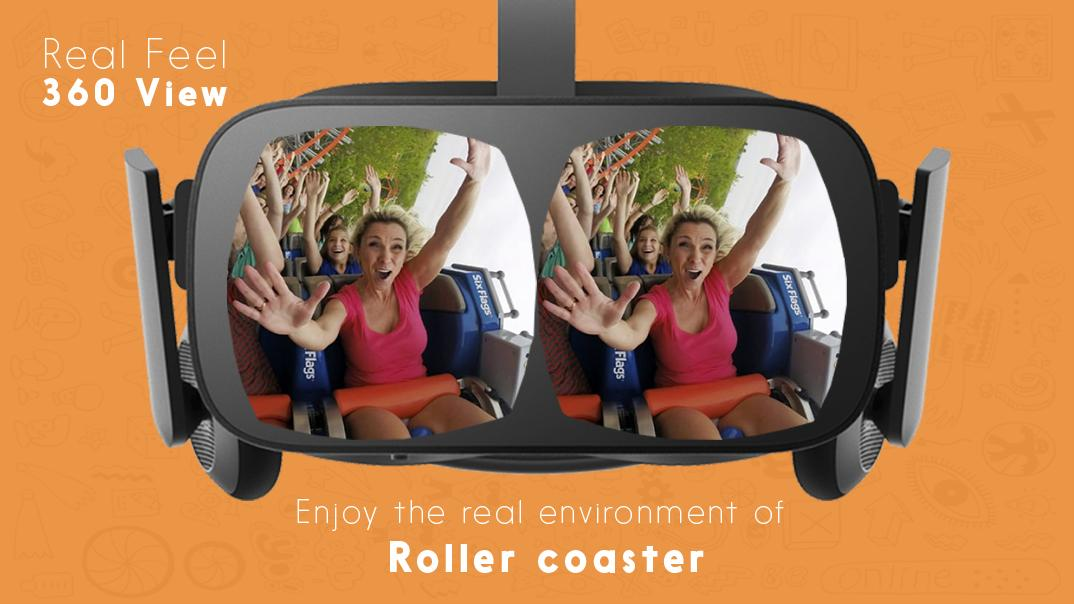 Roller Coaster 360 VR 1 Screenshot 1