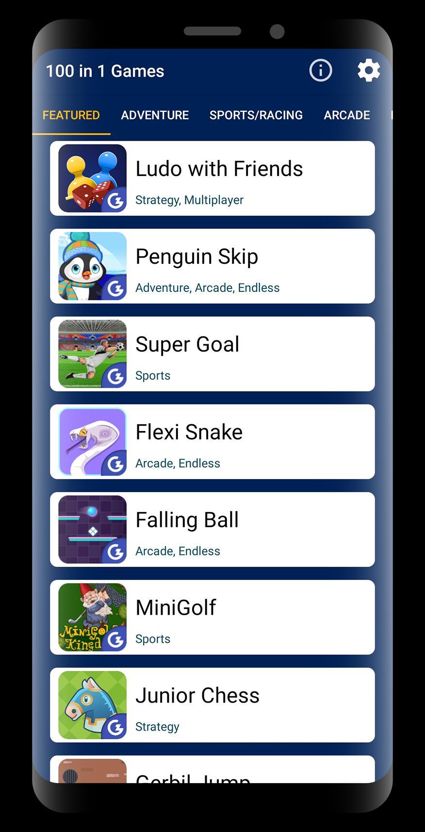 100 in 1 Games 3.3 Screenshot 1