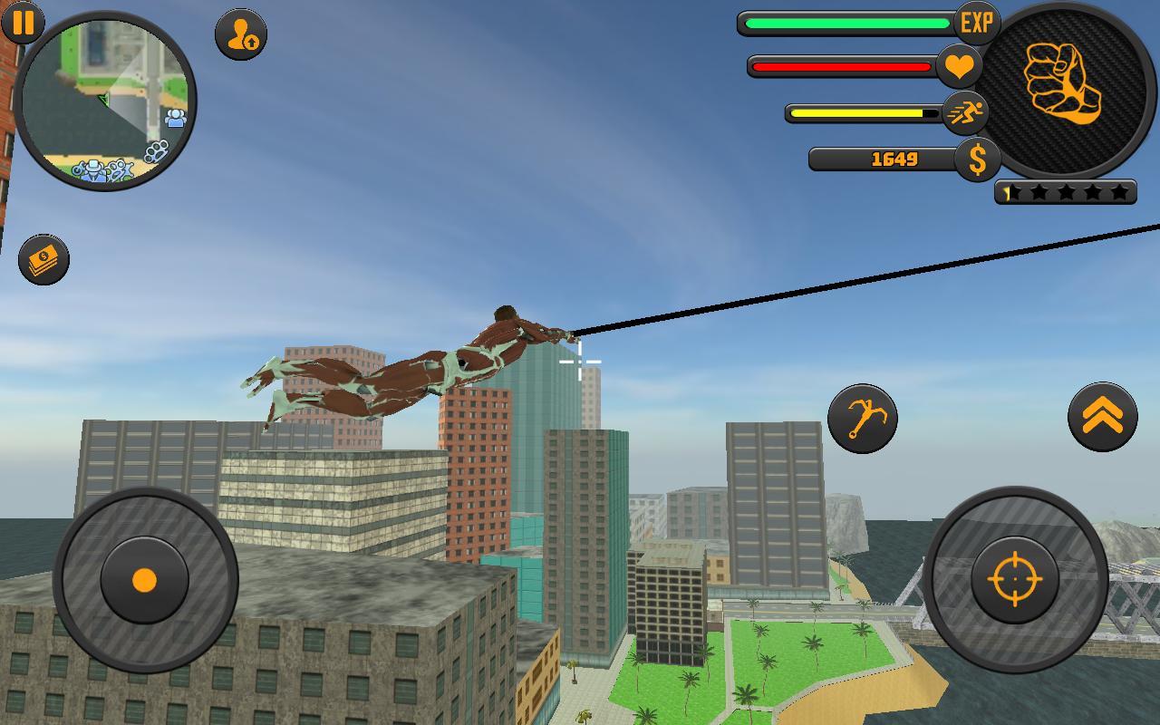 Rope Hero 3 2.1 Screenshot 1