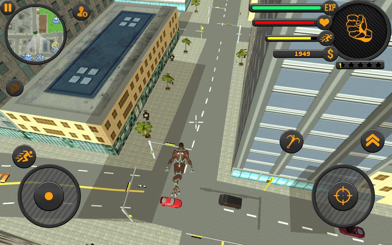 Rope Hero 3 2.1 Screenshot 2