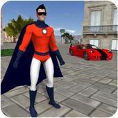 Superhero app icon